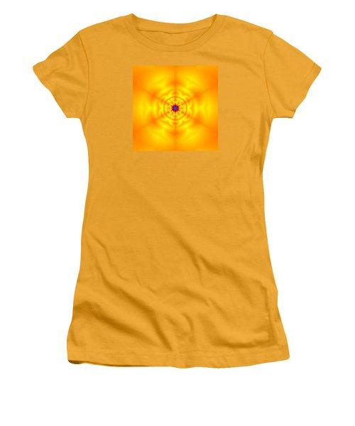 Women's T-Shirt (Junior Cut) featuring the digital art Ahau 6 by Robert Thalmeier