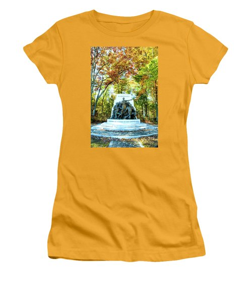 Alabama Monument At Gettysburg Women's T-Shirt (Athletic Fit)