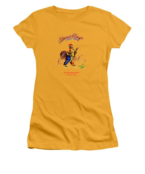 Alamo Plaza Tennessee 1950s Women's T-Shirt (Junior Cut) by Mark Rogan