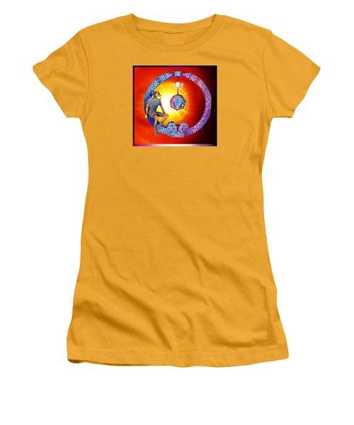 Alien  Dream Women's T-Shirt (Junior Cut) by Hartmut Jager