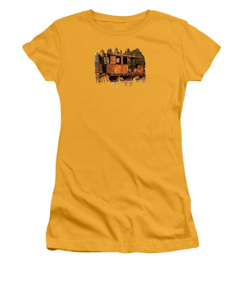 All Aboard Women's T-Shirt (Athletic Fit)