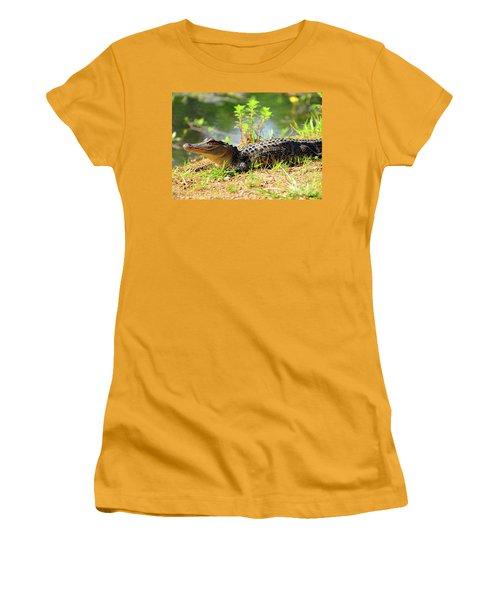 Alligator Women's T-Shirt (Athletic Fit)