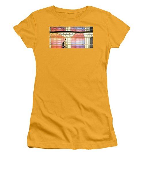 Along For The Ride Women's T-Shirt (Junior Cut) by John McArthur