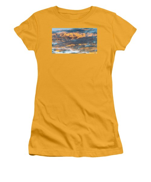 Clouds Of A Different Color Women's T-Shirt (Athletic Fit)
