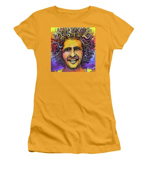 Andy Frasco Women's T-Shirt (Junior Cut) by David Sockrider