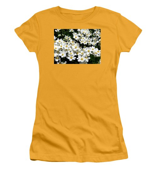 Women's T-Shirt (Athletic Fit) featuring the photograph Anemone Profusion by Will Borden