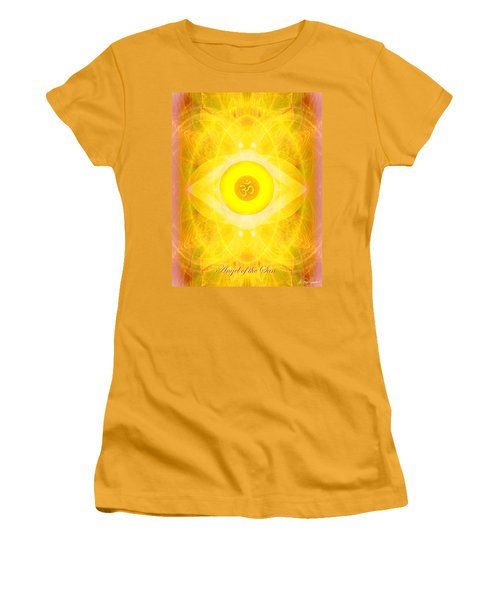 Angel Of The Sun Women's T-Shirt (Athletic Fit)