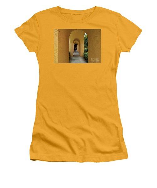 Archway Women's T-Shirt (Junior Cut) by Gary Wonning