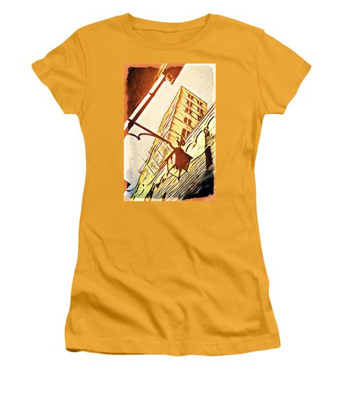 Arezzo's Tower Women's T-Shirt (Athletic Fit)