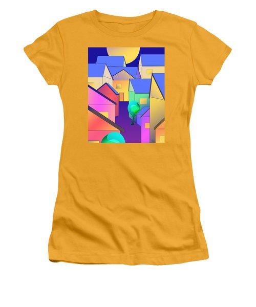 Arfordir Vi Women's T-Shirt (Athletic Fit)
