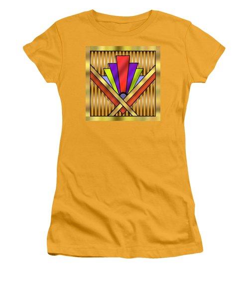 Art Deco 16 Transparent Women's T-Shirt (Junior Cut) by Chuck Staley