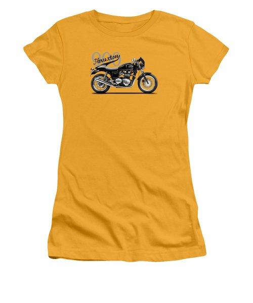 Triumph Thruxton Women's T-Shirt (Athletic Fit)