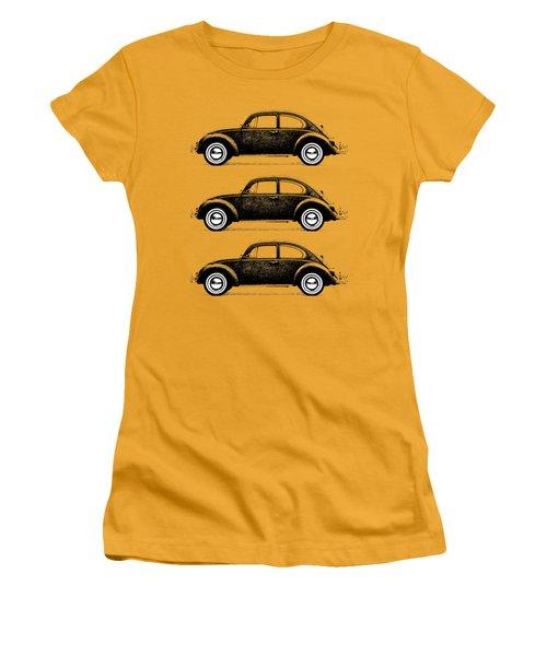 Think Small Women's T-Shirt (Junior Cut) by Mark Rogan