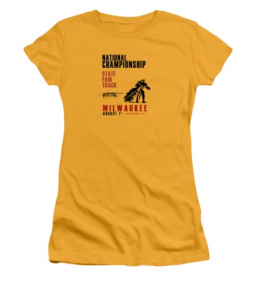 National Championship Milwaukee Women's T-Shirt (Junior Cut) by Mark Rogan