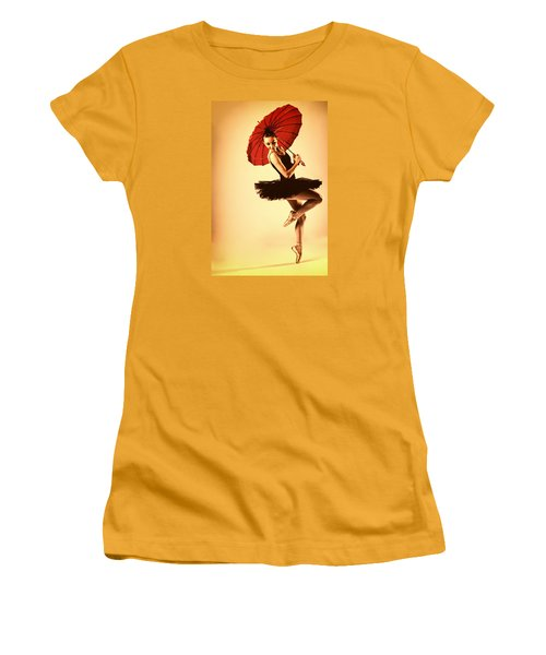 Audrey Would Women's T-Shirt (Athletic Fit)