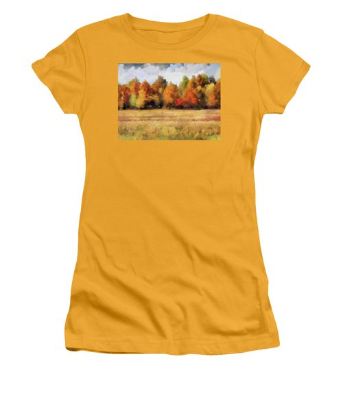 Autumn Impression 1 Women's T-Shirt (Athletic Fit)