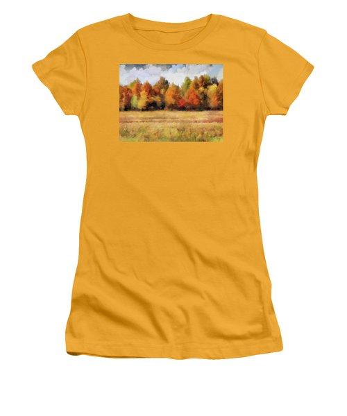 Autumn Impression 1 Women's T-Shirt (Athletic Fit)