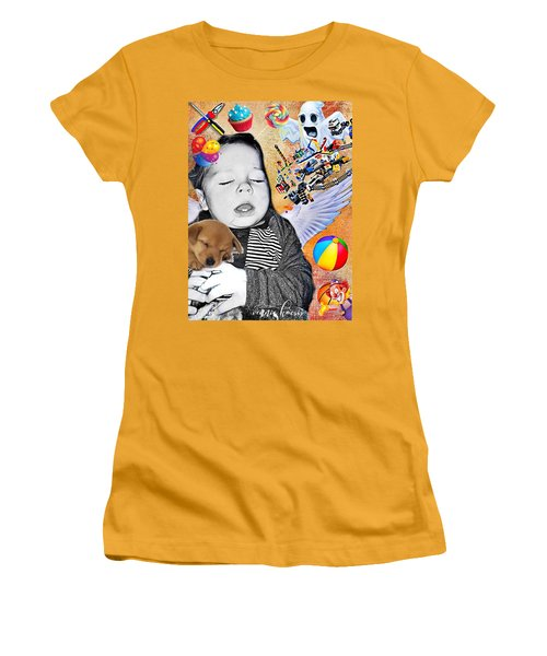 Baby Dreams Women's T-Shirt (Athletic Fit)