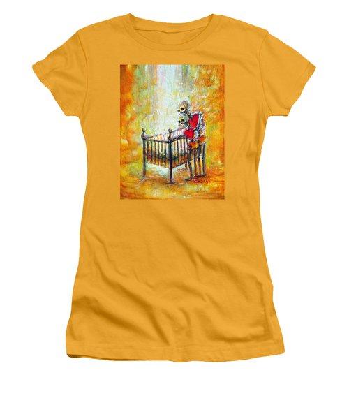 Baby Love Women's T-Shirt (Junior Cut) by Heather Calderon