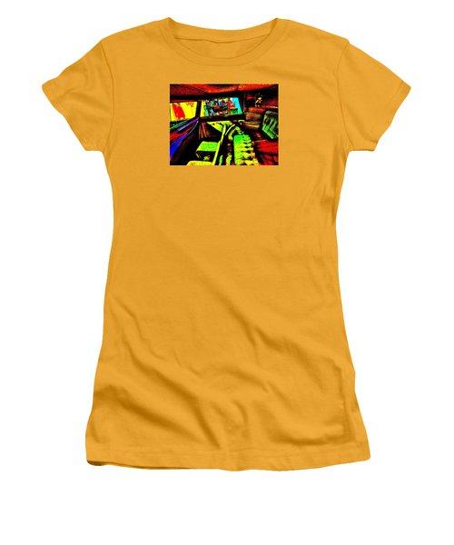 Bahre Car Show II 27 Women's T-Shirt (Junior Cut) by George Ramos