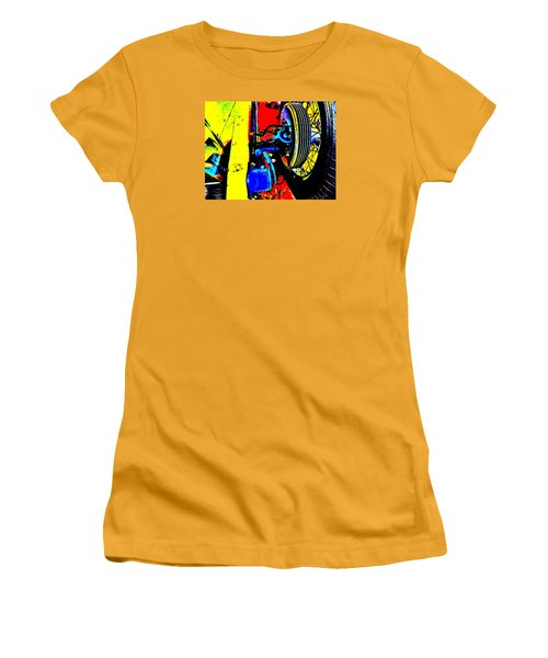 Bahre Car Show II 37 Women's T-Shirt (Junior Cut) by George Ramos