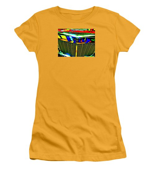 Bahre Car Show II 39 Women's T-Shirt (Junior Cut) by George Ramos