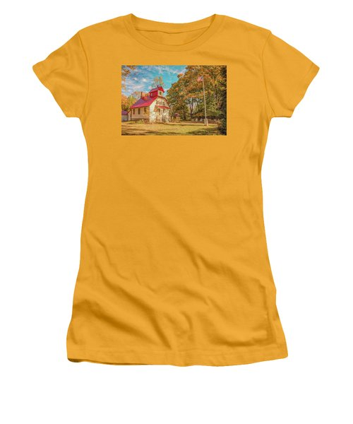 Baileys Harbor Keepers House Women's T-Shirt (Athletic Fit)