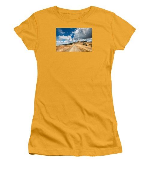 Ball Hills In Summer 3 Women's T-Shirt (Junior Cut) by Greg Nyquist