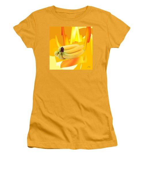 Banana Boat Women's T-Shirt (Junior Cut) by Jacquie King