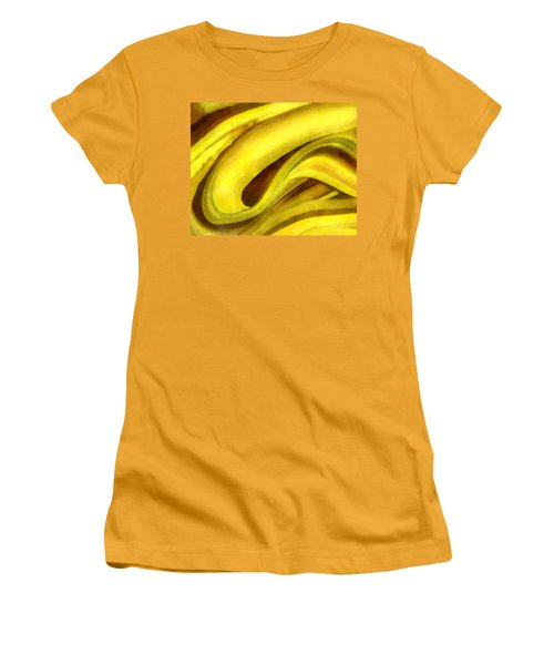 Banana With Chocolate Women's T-Shirt (Junior Cut) by Francesa Miller