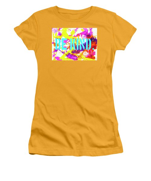 Be Kind Women's T-Shirt (Athletic Fit)