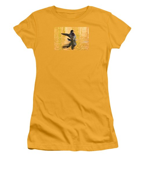 Women's T-Shirt (Athletic Fit) featuring the photograph Beauty And Light    by John F Tsumas