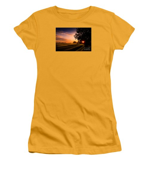 Beloved Land Women's T-Shirt (Athletic Fit)