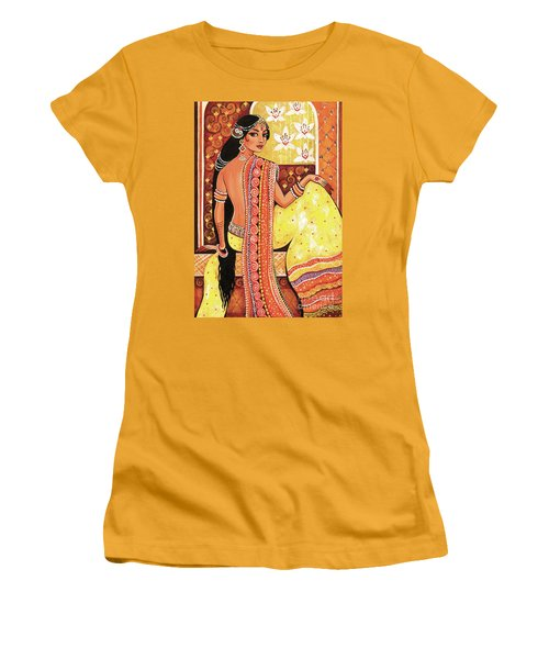 Bharat Women's T-Shirt (Athletic Fit)