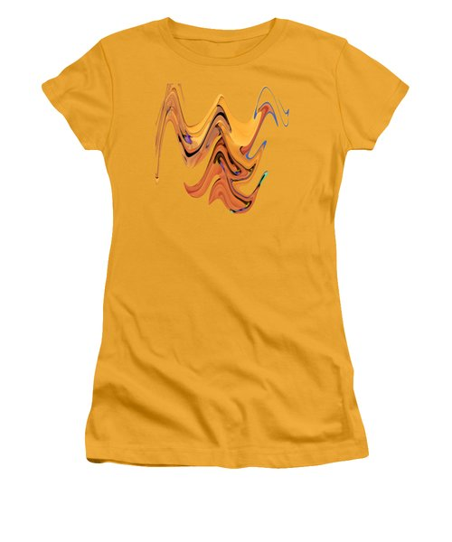 Birds Of Paradise Improvisation Women's T-Shirt (Athletic Fit)