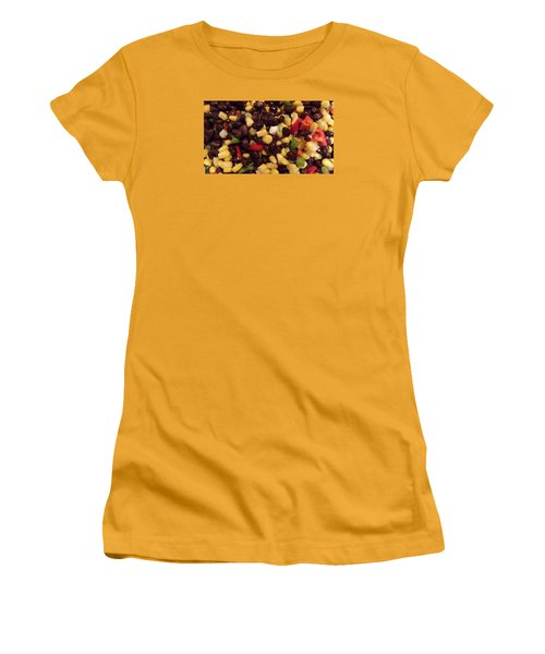 Blackbean Salad Women's T-Shirt (Junior Cut) by Don Koester