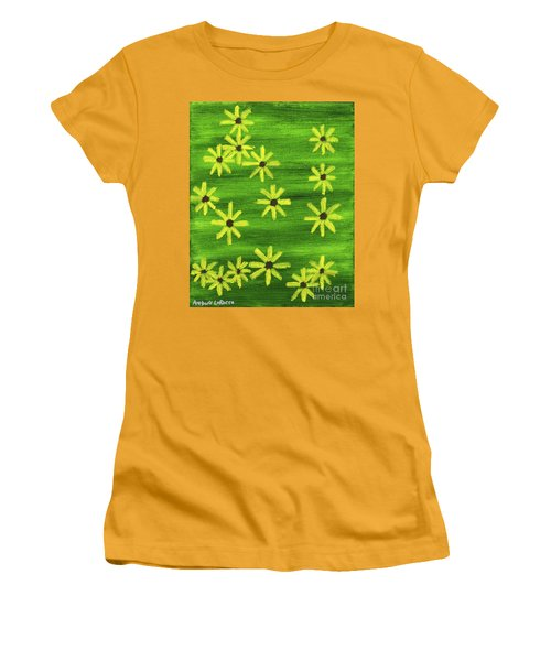 Blackeyed Susan Women's T-Shirt (Athletic Fit)