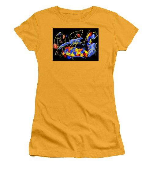 Blown Women's T-Shirt (Junior Cut) by Paulo Guimaraes