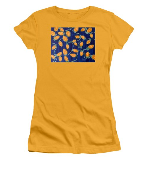 Blue Holiday Women's T-Shirt (Junior Cut) by Joshua Maddison