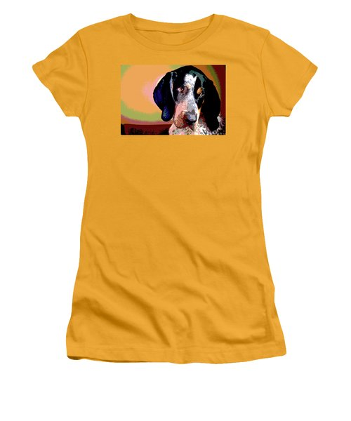 Bluetick Coonhound Women's T-Shirt (Athletic Fit)