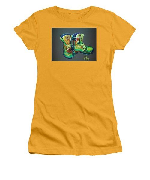 Boots Women's T-Shirt (Athletic Fit)