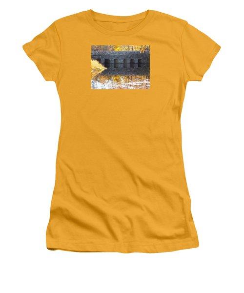 Bridges Reflection Women's T-Shirt (Athletic Fit)