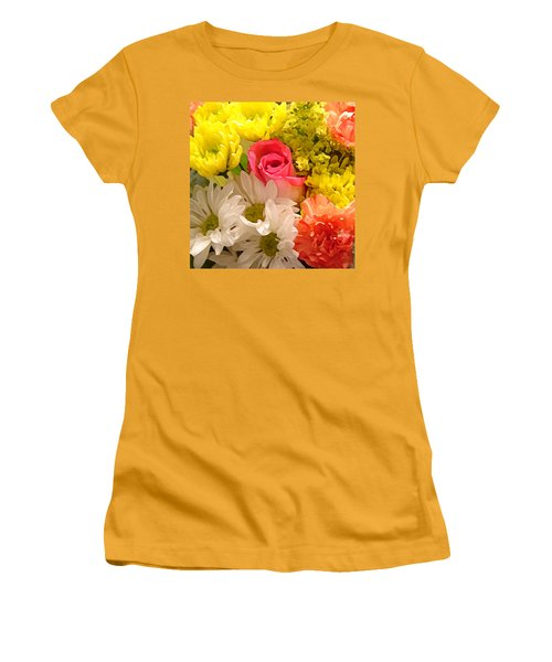 Bright Spring Flowers Women's T-Shirt (Athletic Fit)