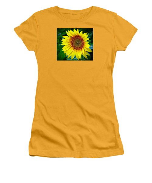 Brighten Your Day Women's T-Shirt (Junior Cut) by Karen McKenzie McAdoo
