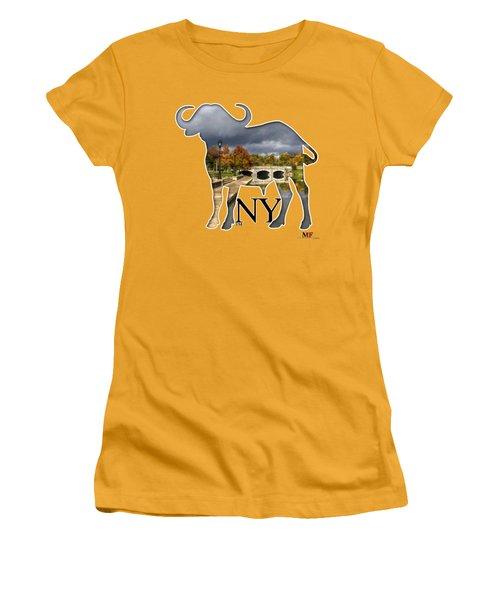 Buffalo Ny Hoyt Lake Women's T-Shirt (Athletic Fit)