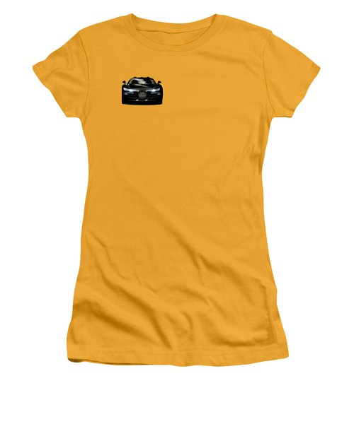 Bugatti Veyron Women's T-Shirt (Junior Cut) by Mark Rogan