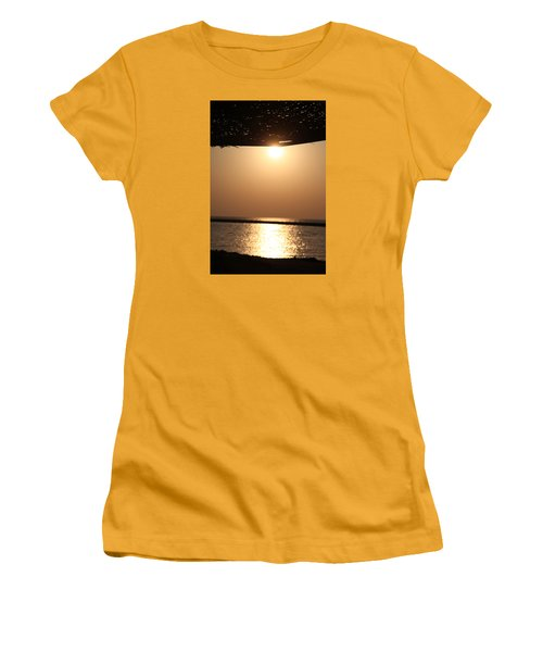 Women's T-Shirt (Junior Cut) featuring the photograph Caffe Time by Jez C Self