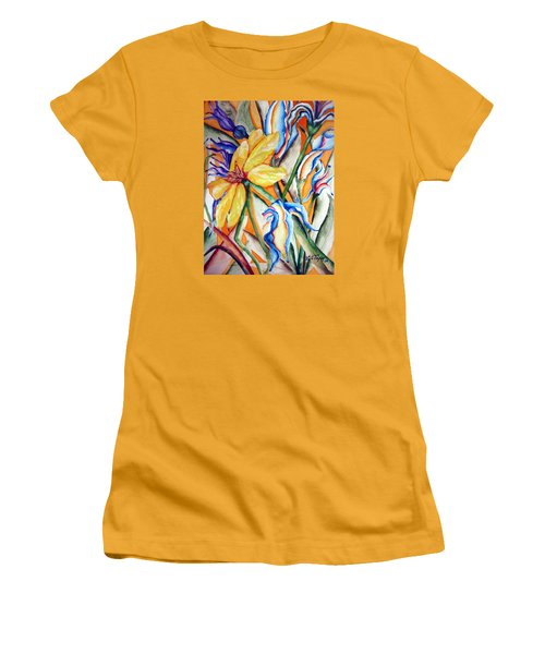 California Wildflowers Series I Women's T-Shirt (Junior Cut) by Lil Taylor