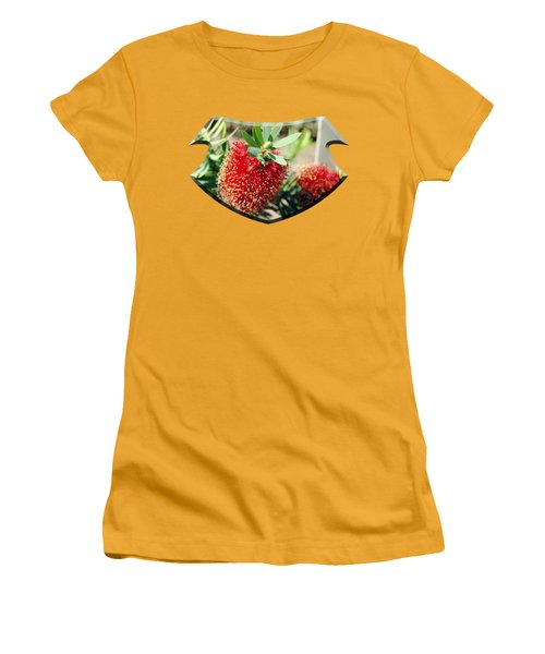 Callistemon - Bottle Brush T-shirt 4 Women's T-Shirt (Junior Cut) by Isam Awad