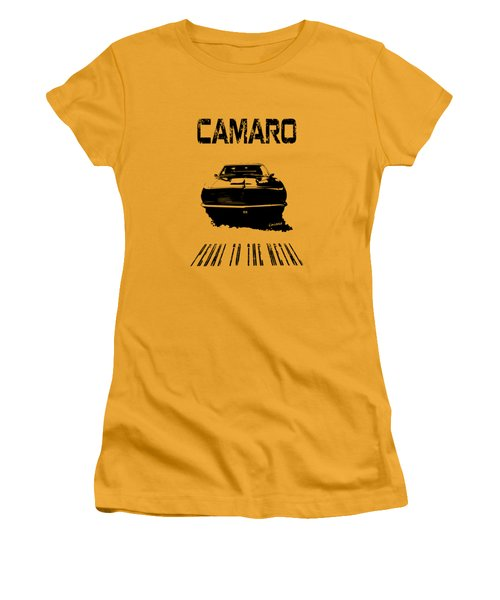 Camaro Ss - Pedal To The Metal Women's T-Shirt (Athletic Fit)